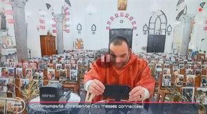Les membre de l'ordre de Saint Lazare mobilisé en Corse
