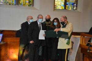 Saint Lazare Images de la cérémonie d'investitures
